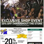 MTAAFootball Shop DSG Event Coupons 2014
